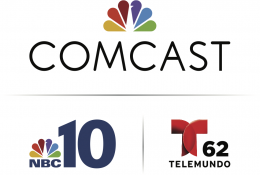 Comcast NBC10 Telemundo Full Logo